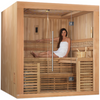 Image of Golden Designs 4-6 Person Traditional Steam Sauna Osla Edition GDI-7689-01 - BathVault