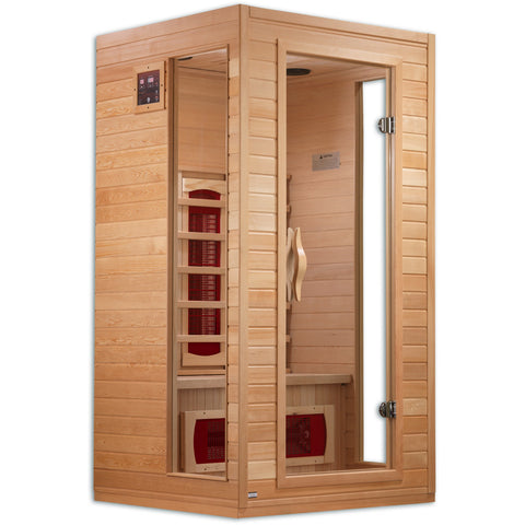 Golden Designs 1-2 Person Infrared Sauna Dynamic Cindy Edition DYN-9101-01