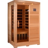 Golden Designs 2 Person Low EMF Far Infrared Sauna GDI-3206-01 - BathVault