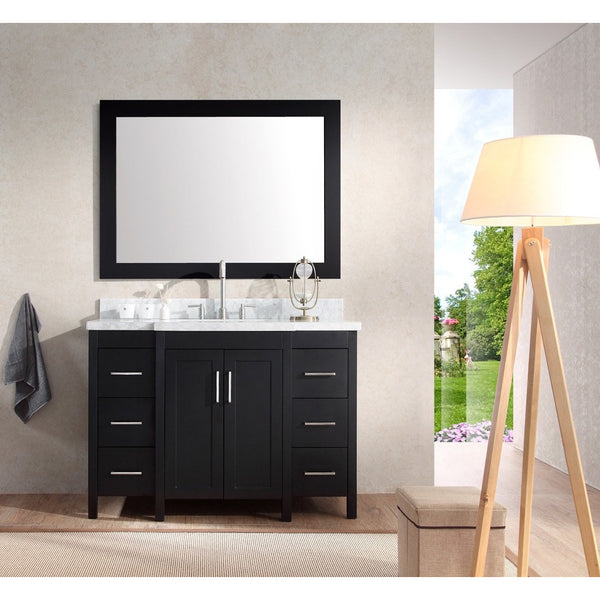 "ARIEL Hollandale 49"" Single Sink Vanity Set E049S - BathVault"