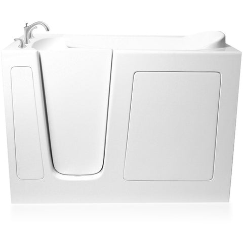 "ARIEL EZWT-3048 Soaker Series Walk-In Tub 48"" x 29"" x 38"" - BathVault"