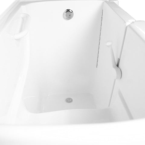 "ARIEL Walk-In Soaking Bathtub 54"" x 30"" x 39"" EZWT-3054-SOAKER - BathVault"