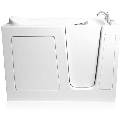 "ARIEL Walk-In Whirlpool Bathtub 60"" x 30"" x 37"" EZWT-3060-AIR - BathVault"