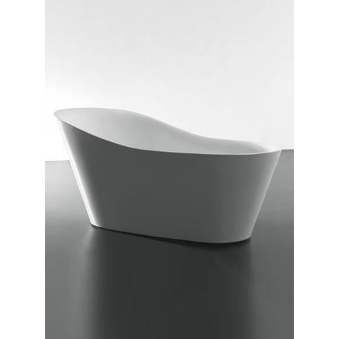 Eviva Emely Acrylic Tub 71″ Free Standing High-end Bathtub EVTB1014-71WH - BathVault