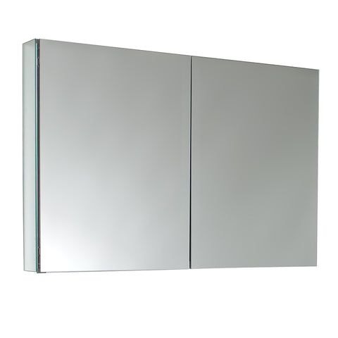 "Fresca 40"" Wide x 26"" Tall Bathroom Medicine Cabinet w/ Mirrors - BathVault"