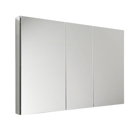 "Fresca 50"" Wide x 36"" Tall Bathroom Medicine Cabinet w/ Mirrors - BathVault"