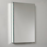 "Fresca 15"" Wide x 26"" Tall Bathroom Medicine Cabinet w/ Mirrors - BathVault"