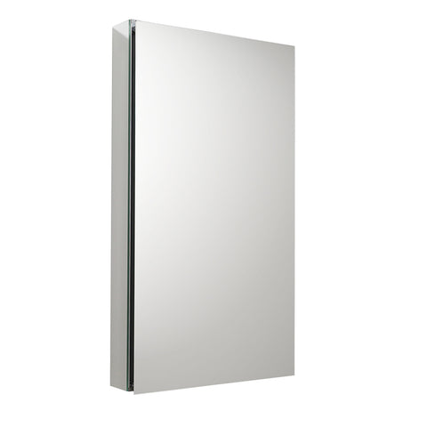"Fresca 20"" Wide x 36"" Tall Bathroom Medicine Cabinet w/ Mirrors - BathVault"