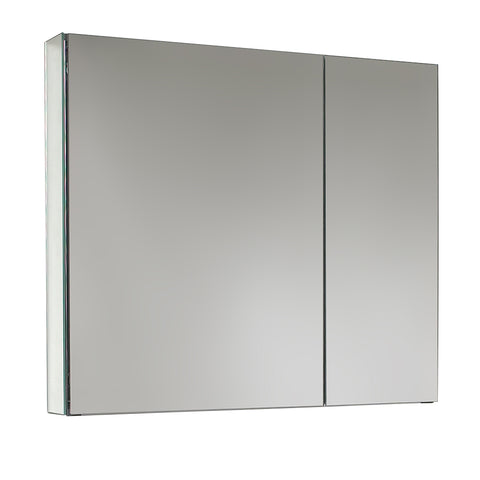 "Fresca 30"" Wide x 26"" Tall Bathroom Medicine Cabinet w/ Mirrors - BathVault"
