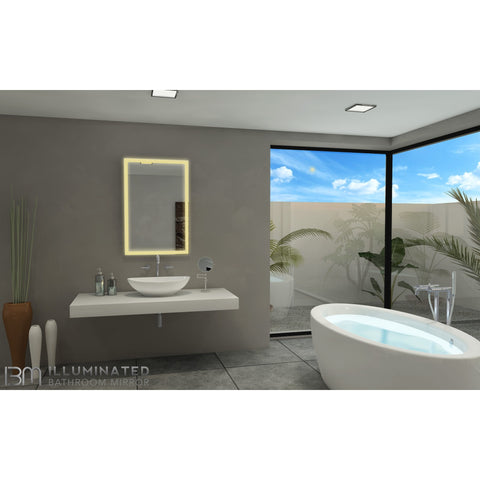 IBMirror Illuminated Vanity Mirror - Paris Galaxy Rectangle