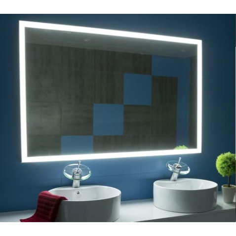 IBMirror Illuminated Vanity Mirror - Paris Galaxy Rectangle - BathVault