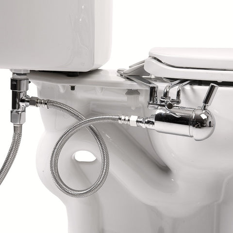GoBidet Bidet Toilet Seat Attachment Hot and Cold GB-2003C