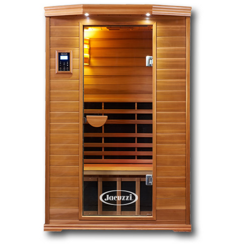 2 Person Clearlight Infrared Cedar Premier IS-2 - BathVault