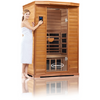 Image of 2 Person Clearlight Infrared Cedar Premier IS-2 - BathVault