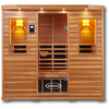 Image of 4-5 Person Clearlight Infrared Sauna Premier IS-5 - BathVault