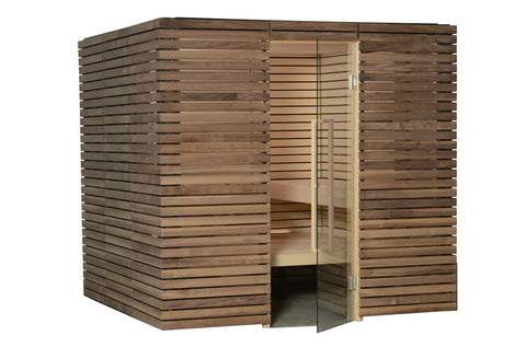 Almost Heaven Saunas Lindea Indoor Sauna with Virta Heater - BathVault