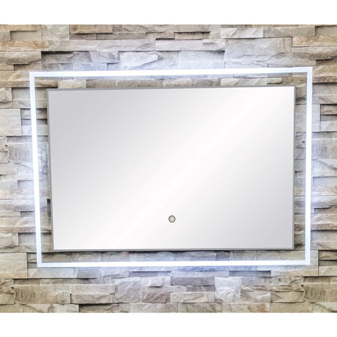 "MTD Vanities Vadara DL55 Touch/Sensor Activated LED Illuminated Mirror - 39.4"" x 27.6"" - BathVault"