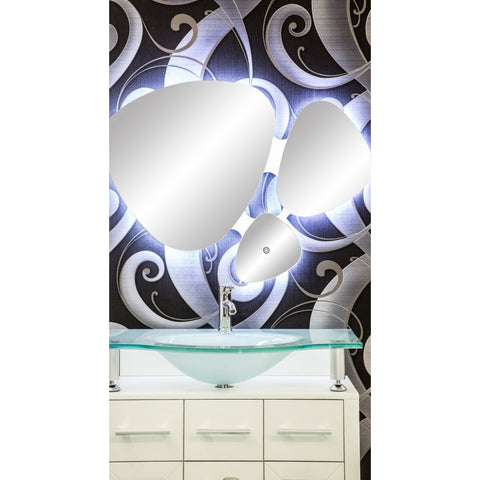 MTD Vanities Paris Illuminated Vanity Mirror 39x30 DL37 - BathVault