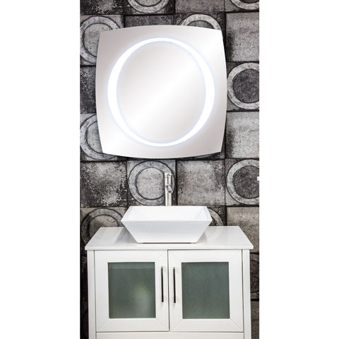 MTD Vanities Vadara Illuminated Vanity Mirror 28x28 - BathVault