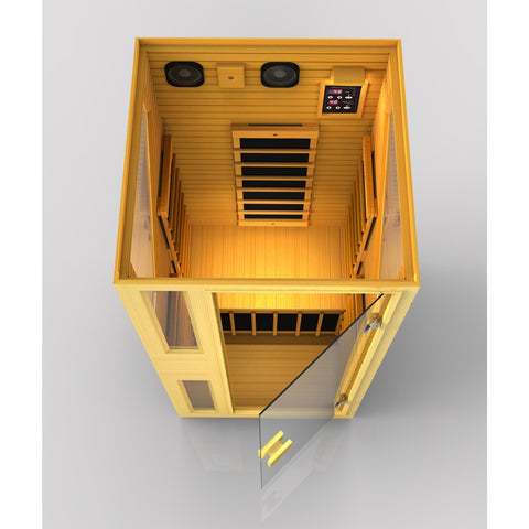 Ensi™ 1 Person Zero-EMF Far Infrared Sauna.