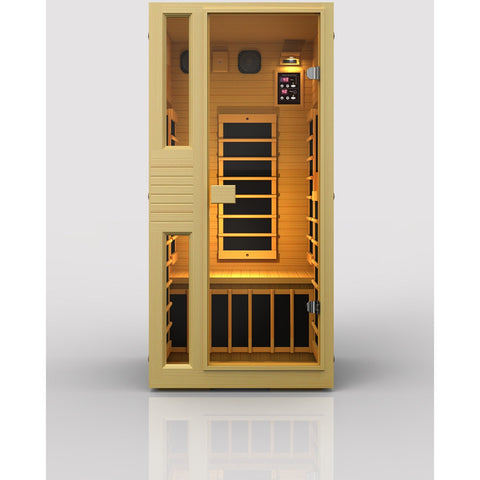 JNH Ensi™ 1 Person Zero-EMF Far Infrared Sauna. - BathVault