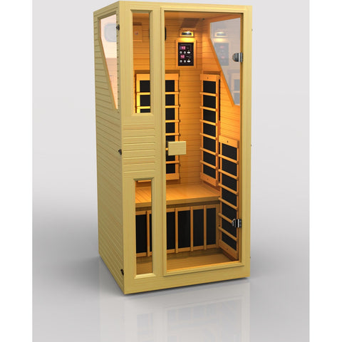 Ensi™ 1 Person Zero-EMF Far Infrared Sauna. - BathVault
