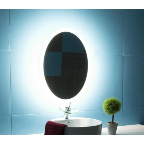 IBMirror Illuminated Vanity Mirror - Paris Oval 110V - BathVault