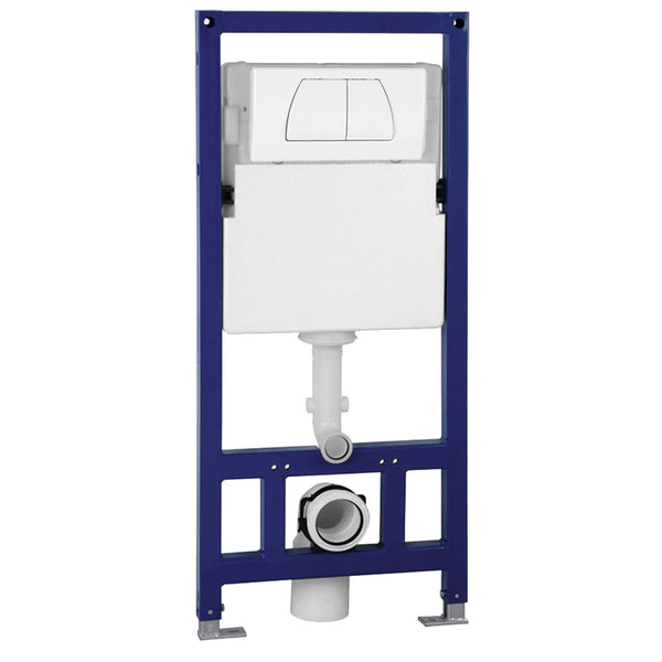 Eago Wall Mount 0.8/1.6 GPF Dual Flush Toilet Tank - BathVault