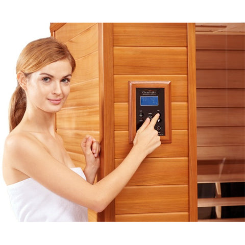 3 Person Clearlight Infrared Sauna Premier IS-3 - BathVault