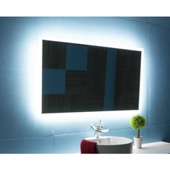 Image of IBMirror Illuminated Vanity Mirror - Paris Rectangle 110V