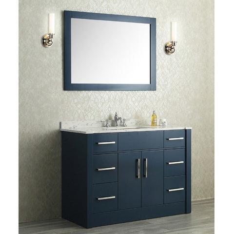 "Seacliff by ARIEL Radcliff 48"" Single Sink Vanity Set SC-RAD-48 - BathVault"