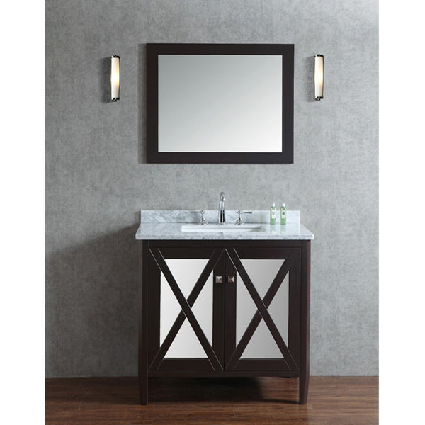 "Seacliff by ARIEL Summit 36"" Single Sink Vanity Set SC-SUM-36 - BathVault"