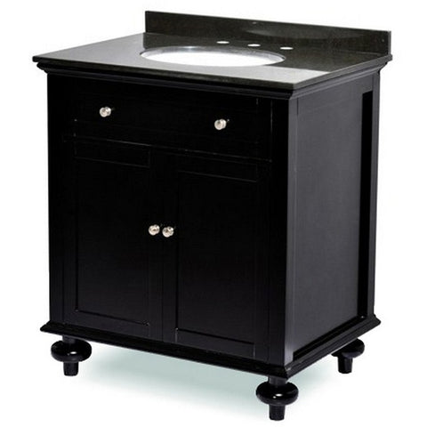 "ARIEL Belmont Decor Madison 30"" Single Sink Vanity ST2-30-ESP - BathVault"