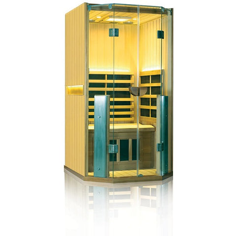 1 Person Clearlight Full Spectrum Infrared Cedar Sauna Sanctuary 1-FS