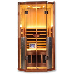 Image of 1 Person Clearlight Full Spectrum Infrared Cedar Sauna Sanctuary 1-FS