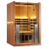 Image of 2 Person Clearlight Full Spectrum Infrared Sauna Sanctuary 2-FS - BathVault