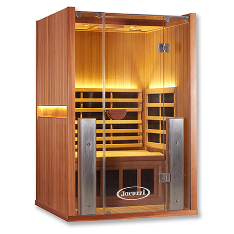 jnh lifestyles joyous 2 person infrared sauna bathvault. Black Bedroom Furniture Sets. Home Design Ideas
