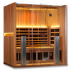 Image of 3 Person Clearlight Full Spectrum Infrared Sauna Sanctuary 3-FS - BathVault