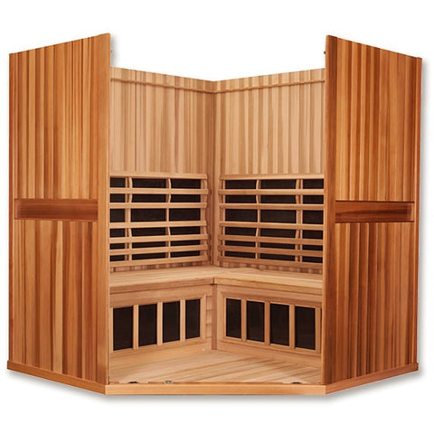 4 Person Clearlight Full Spectrum Infrared Sauna Santuary C-FS - BathVault