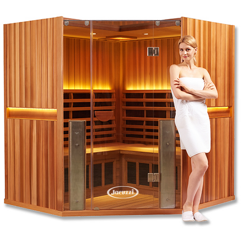 4 Person Clearlight Full Spectrum Infrared Sauna Sanctuary C-FS - BathVault