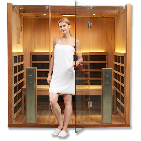 Hot Yoga Clearlight Full Spectrum Infrared Sauna Sanctuary Y-FS - BathVault