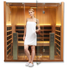 Image of Hot Yoga Clearlight Full Spectrum Infrared Sauna Sanctuary Y-FS - BathVault