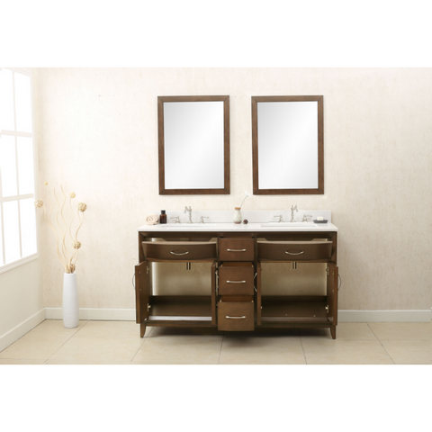 60 double sink bathroom vanity.  Legion Furniture 60 Double Sink Bathroom Vanity WLF7030 BathVault