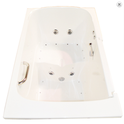 "ARIEL 3555 Walk-In Bathtub 55"" x 35"" x 45"""