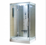 "Mesa WS-300 Steam Shower 47""W x 35""D x 85""H - Clear Glass - BathVault"