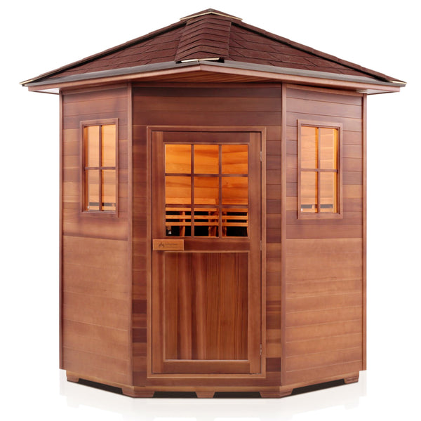 Enlighten SIERRA - 4C Peak Full Spectrum Infrared Sauna - BathVault