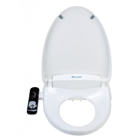Brondell Swash 100 Bidet Toilet Seat w/ Heated Toilet Seat S100 - BathVault