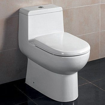 ARIEL Platinum Camilla Elongated Toilet with Dual Flush TB351M - BathVault