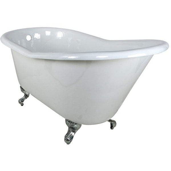 "Kingston Brass Slipper Aqua Eden 60"" Freestanding/Clawfoot Tub - BathVault"