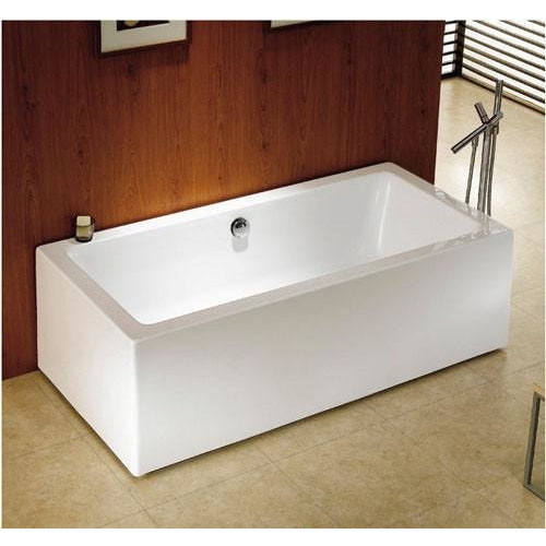"Kingston Brass Fusion Tub/Rec Aqua Eden 67 "" Freestanding - BathVault"
